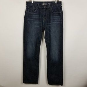7 For All Mankind Austyn Relaxed Straight 33x33